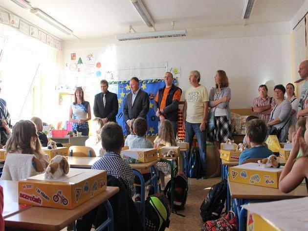 Zahájení školního roku v ZŠ Šumava.