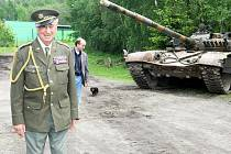Setkání s tankovými veterány v Muzeu obrněné techniky ve Smržovce.
