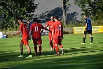 V letní přípravě si o víkendu naordinovalo áčko Jiskry Mšeno hned dva zápasy, jeden proti Železnému Brodu a druhý proti Lomnici nad Popelkou.