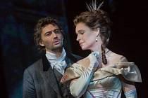 Jonas Kaufman a Sophie Koch v titulních rolích opery Werther.