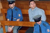 David Berdych u soudu v říjnu 2006.