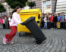 V soutěži bodoval v roce 2009 i Železný Brod. Foto ze zábavného předávání ceny.