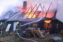 Likvidace požáru. Ilustrační snímek.