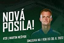 Milan Nešpor nová posila FK