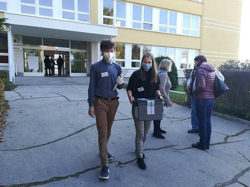 Parlamentní volby 2021 v Jablonci nad Nisou. FOTO: Radka Baloghová