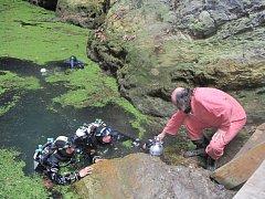 Technické potápění nabízí mnohá dobrodružství. Je ale náročné a také nebezpečné, zvláště ve velkých hloubkách.