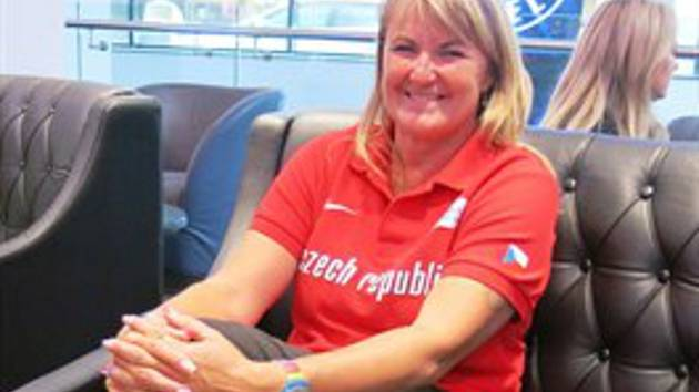 Dana Jandová je úspěšná trenérka svých úspěšných svěřenců, atletů TJ LIAZ i dalších.