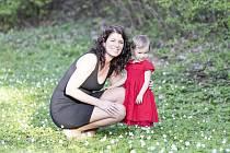 Michaela Tejmlová s dcerou Klárkou.
