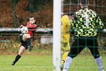 Velké Hamry si doma poradily s Jilemnicí 2:0. Po podzimu jsou na druhém místě.