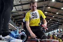 Dvacátý devátý ročník závodů v disciplínách požárního sportu se konal o víkendu v atletické hale na Střelnici v Jablonci. Účastnili se profesionální i profi hasiči.