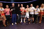 Night of Warriors II v Tipsport areně. Na snímku vítěz Jan Fendrich (Iron Fighters) v červených rukavicích.