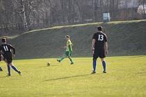V dalším utkání I. A třídy, ale prvním, které hrál Pěnčín na domácím hřišti, vstřelil čtyři góly (4:0)  do branky libereckého Rapidu. Fanoušci si začátek sezóny doma pochvalovali.