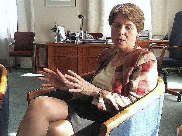Helena Rögnerová jako jednatelka společnosti Mediterra