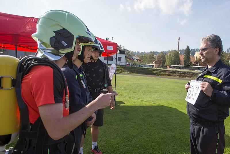 Střední škola Semily pořádala nultý ročník soutěže se specializací pro studenty oboru požární ochrany.