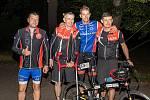 Metrostav cyklo handy maraton startoval v Praze. Trasa byla dlouhá 2222 kilometrů napříč Českou republikou. Zúčastnil se také tým jabloneckých Skládaček.