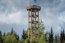 Rozhledna na Světlém vrchu je pro návštěvníky otevřená od začátku roku 2021.