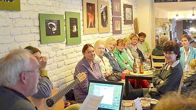 La Kavárna je místem mnoha kulturních akcí.