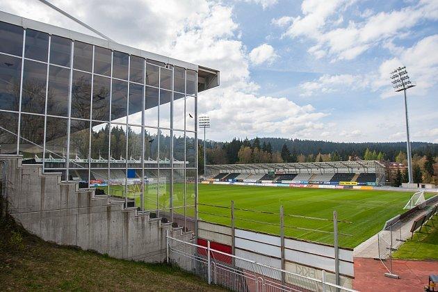 Sídlo prvoligového fotbalového klubu FK Jablonec