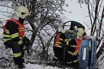 Nehoda v obci Záhoří-Proseč