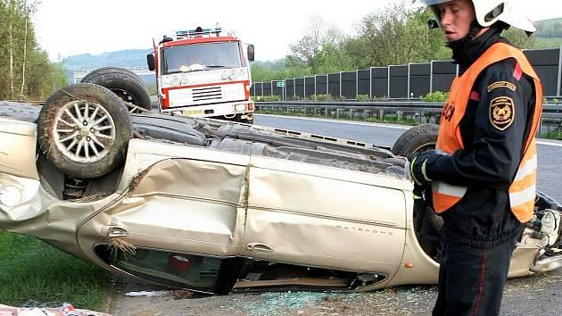 Dopravní nehoda. Ilustrační snímek.