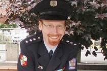 Vedoucí Obvodního oddělení policie v Tanvaldě Jan Hlubuček
