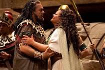 V titulní roli etiopské otrokyně Aidy se představí litevská sopranistka Violeta Urmana, egyptského vojevůdce Radamése zazpívá Johan Botha. V roli egyptského krále v Metropolitní opeře debutuje slovenský basista Štefan Kocán.