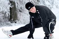 Fotbalisté FK Baumit Jablonec absolvovali v mrazivém pondělním dopoledni první trénink zimní přípravy na nadcházející jarní kolo Gambrinus ligy.