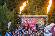 Finále závodu světové série horských kol ve fourcrossu, JBC 4X Revelations, proběhlo 15. července v bikeparku v Jablonci nad Nisou.