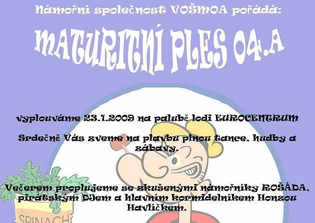 Maturitní ples VOŠMOA 4. A