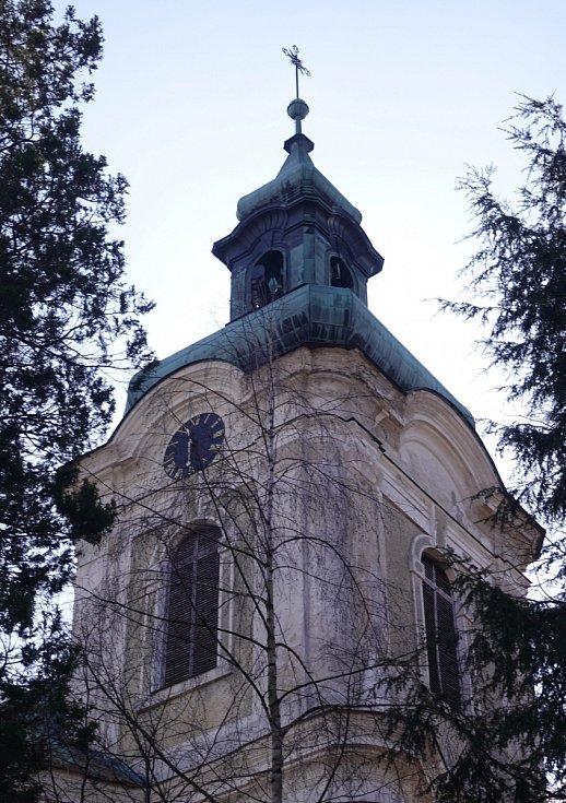 Kostel sv. Michaela na Smržovce.