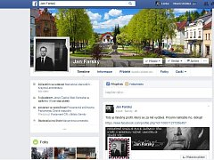 Oficiální stránka poslance Jana Farského na facebooku, kde upozorňuje na falešnou stránku.