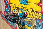 Finále závodu světové série horských kol ve fourcrossu, JBC 4X Revelations, proběhlo 15. července v bikeparku v Jablonci nad Nisou. Na snímku je Dominik Kvapil.