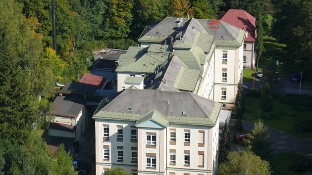 Tanvaldská Nemocnice.
