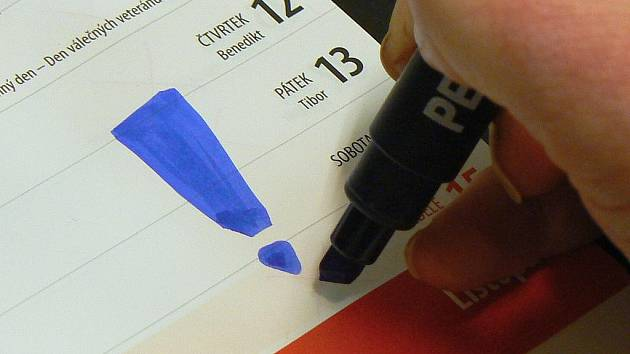 Pátek 13. listopadu 2009.