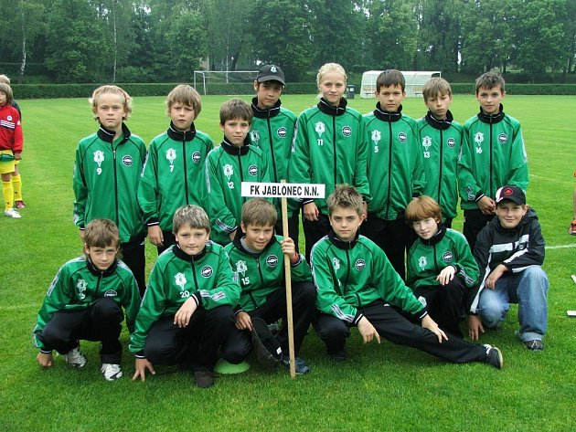 Mladí fotbalisté FK Jablonec 97
