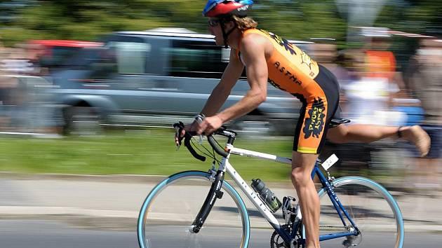 Jablonecký triatlonista Jan Francke.