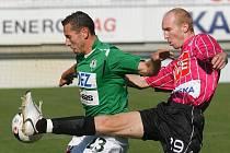 V 8. kole 1 GL přivítal domácí SK Dynamo České Budějovice FK Baumit Jablonec. Domácí nakonec slavili zaslouženou výhru 2:1 po poločase 1:0.