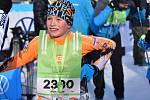 """Beata z Jablonce bude možná jednou vítězka J50, v sobotu dopoledne dorazila do cíle """"desítky"""" s úsměvem a plánovala, jak se těší na tréninky, které ji čekají příští týden."""