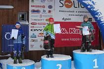 Na start krajského poháru se postavily všechny kategorie, od žáků až po veterány. A po dlouhé době si všichni užívali kvalitního sněhu.