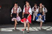 Slovenský folklorní soubor Topľan vystoupil 8. června v rámci Mezinárodního folklorního festivalu v Jablonci nad Nisou.