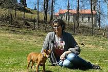 Marta Kubišová s televizním štábem natáčela v lučanském útulku Dášenka pořad Chcete mě.