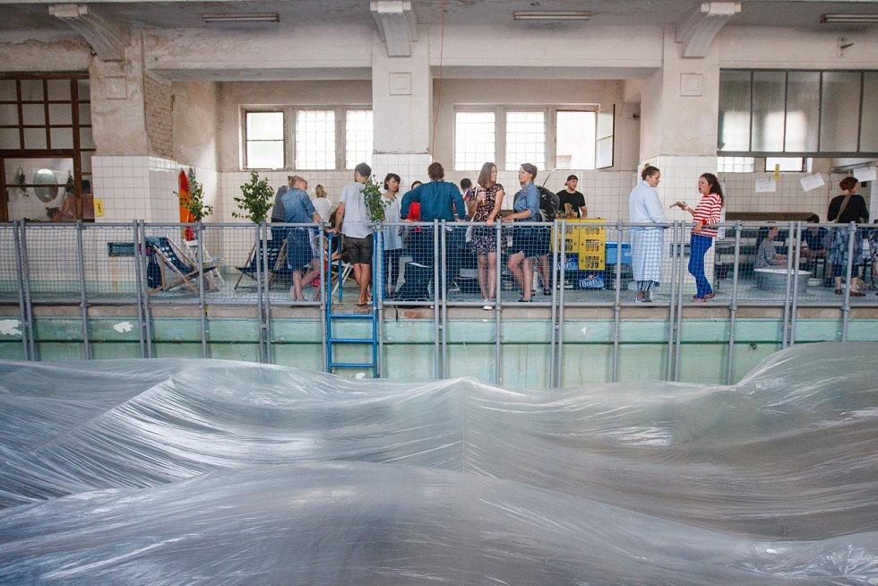 Akce Nádech pro lázně v Městských lázních v Jablonci nad Nisou