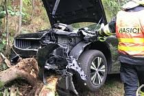 Dopravní nehoda v Jablonci.