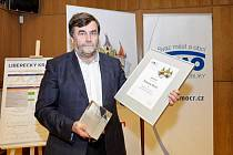 Cenu převzal starosta Železného Brodu František Lufinka