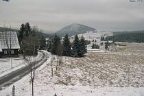 Tradičně nejchladněji a to nejen, v regionu je v osadě Jizerka.
