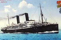 Petr Louda má ve své sbírce starých pohlednic Jablonecka také pozdrav z lodi Gablonz. Jejím mateřským přístavem byl severoitalský Terst a na svou první plavbu se vydala 3. května 1912. U tohoto slavnostního aktu nechyběl tehdejší starosta Jablonce Adolf H