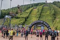 V červenci se v Harrachově konal mezinárodní závod Gladiator Race Runmageddon.