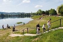 Jablonecká přehrada.