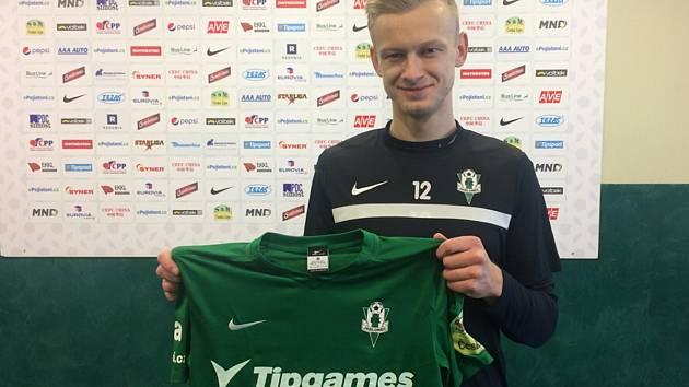 Jaroslav Zelený s jabloneckým dresem