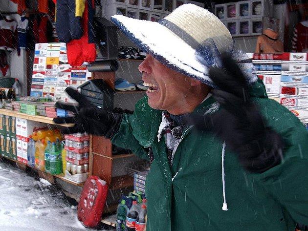 Vietnamská tržnice. Ilustrační snímek.